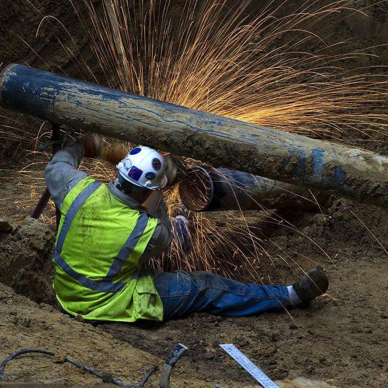 唐山天然气管道焊接工程
